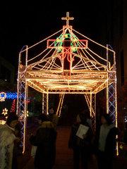 奈良基督教会の電飾
