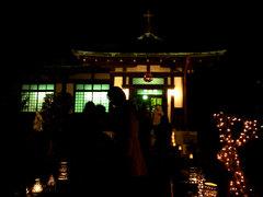 奈良基督教会礼拝堂入口